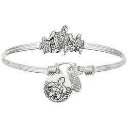 Sea Turtle Bangle Bracelet