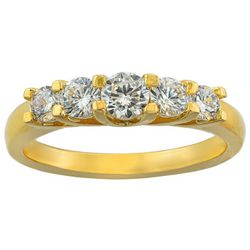 Ocean Treasures Cubic Zirconia Fashion Ring