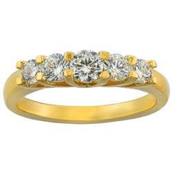 Cubic Zirconia Fashion Ring