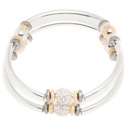 Tri Tone Bracelet Set