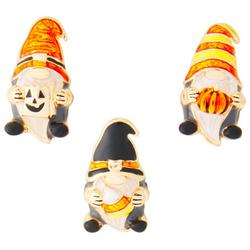 3-Pk. Halloween Gnome Pendants