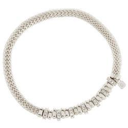 Rhinestone Rondelle Bracelet