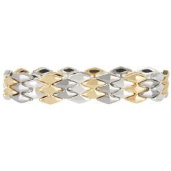 Tri-Tone Stretch Bracelet