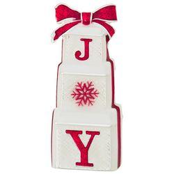 Napier Holiday Joy Stacked Gifts Pin