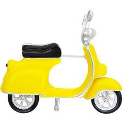 Moped Enamel Pin