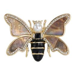 Enamel Bumble Bee Pin