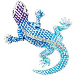 Lizard Crystal Pendant