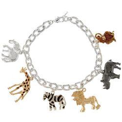 Napier Safari Charm Bracelet