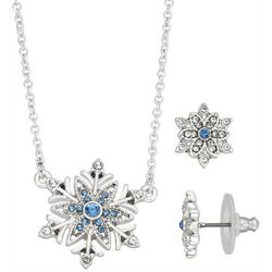 Napier Snowflake Earring & Necklace Set