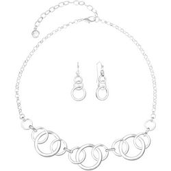 Gloria Vanderbilt Rings Necklace Set