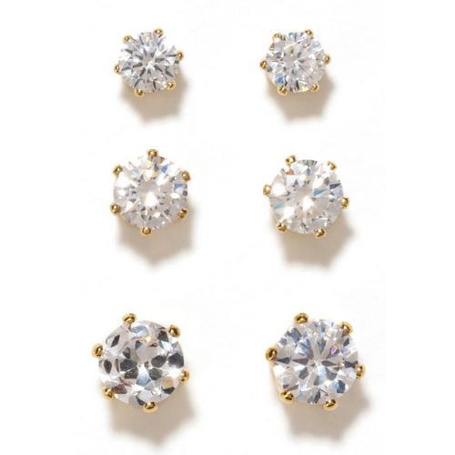 fb9f5d750 Bay Studio Three Pair Cubic Zirconia Earrings Set | Bealls Florida