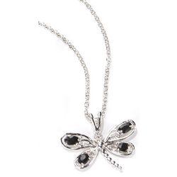 Bay Studio Black Dragonfly Necklace