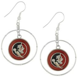 Florida State By FROM THE HEART Hoop Earrings