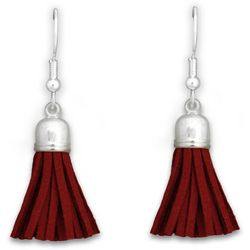 Florida State By FROM THE HEART Tassel Drop Earrings