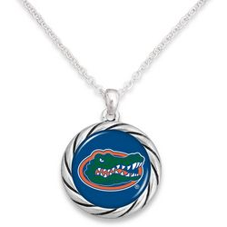 Florida Gators By FROM THE HEART Team Disc Pendant Necklace