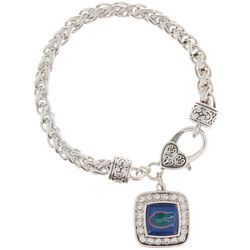 Florida Gators By From The Heart Charm Chain Bracelet