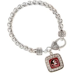 Florida State Seminole Charm Bracelet By FROM THE HEART
