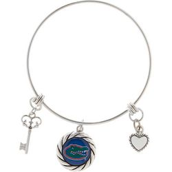 Florida Gators Multi Charm Bangle Bracelet By FROM THE HEART