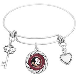 Florida State Adjustable Bangle Bracelet By FROM THE