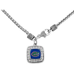 Florida Gators Charm Pendant Necklace By FROM THE HEART