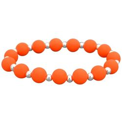 FROM THE HEART Zoey Orange Team Stretch Bracelet