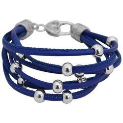 FROM THE HEART Game Day Multi Row Bead Bracelet