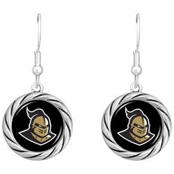 UCF Knights Disc Drop Earrings By FROM THE HEART
