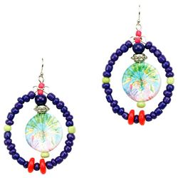 Leoma Lovegrove Fanfare Beaded Drop Earrings