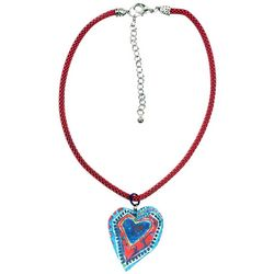 Leoma Lovegrove Sea Heart Pendant Necklace