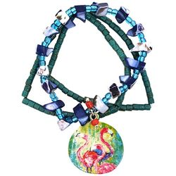 Leoma Lovegrove The Soiree Flamingo Bracelet Set