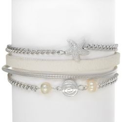 SAACHI Boxed Starfish Multi Chain Bracelet