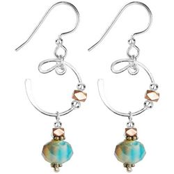 JODY COYOTE Regal Reality Crescent Bead Earrings