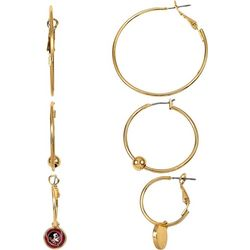 Florida State Hoop Earring Set By Accessory Plays