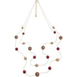 Florida State Two Row Necklace By Accessory Plays