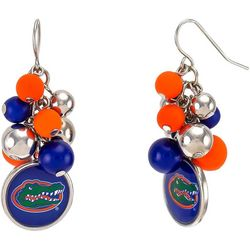 Florida Gators Bead Cluster Earrings By Accessory Plays