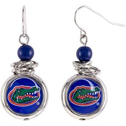Florida Gators Team Disc Drop Earrings By Accessory Plays