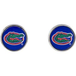 Florida Gators Disc Stud Earrings By Accessory Plays