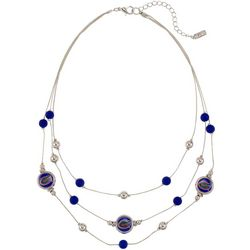 Florida Gators Triple Row Necklace By Accessory Plays