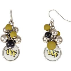 UCF Knights Team Beaded Cluster Earrings By Accessory Plays