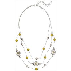 UCF Knights Team 3 Row Necklace By Accessory Plays