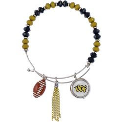 UCF Knights Team Bead & Charm Bracelet By Accessory Plays