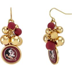 Florida State Bead Cluster Earrings By Accessory Plays