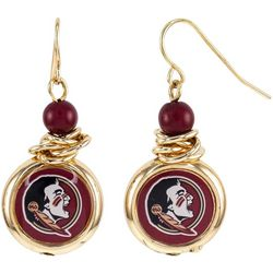 Florida State Team Dangle Earrings By Accessory Plays
