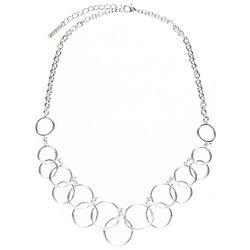 Nine West Ring Link Necklace
