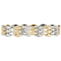 Nine West Tri-Tone Stretch Bracelet