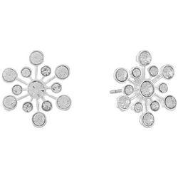 Chaps Star Struck Rhinestone Stud Earrings