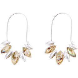 Chaps Long Earwire Marquis Multi Drop Earrings