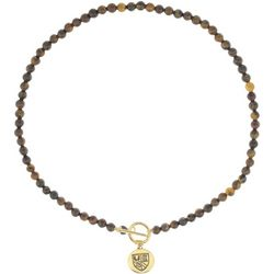 Chaps Tigers Eye Beaded Necklace