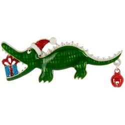 Brighten the Season Holiday Gator Pin