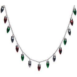Brighten the Season Holiday Bulb Necklace